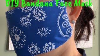 DIY Bandana Face Mask