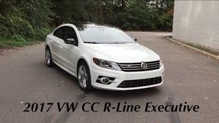 2017 Volkswagen CC R-Line Executive Edition with Carbon
