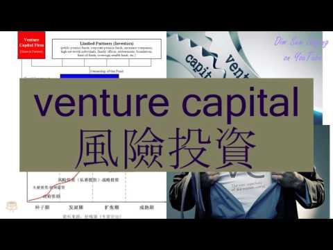 """VENTURE CAPITAL"" in Cantonese (風險投資) - Flashcard"
