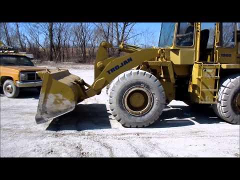 Trojan 1900 wheel loader for sale | sold at auction April 16, 2015