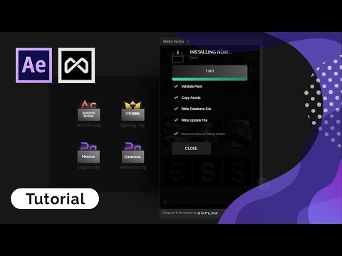 Motion Factory Tutorial | How to Unlock Locked Packs Inside Motion Factory.