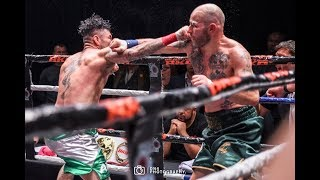BKB - JIMMY SWEENEY VS EDGAR PUERTA WORLD BARE KNUCKLE TITLE FIGHT * FULL FIGHT *