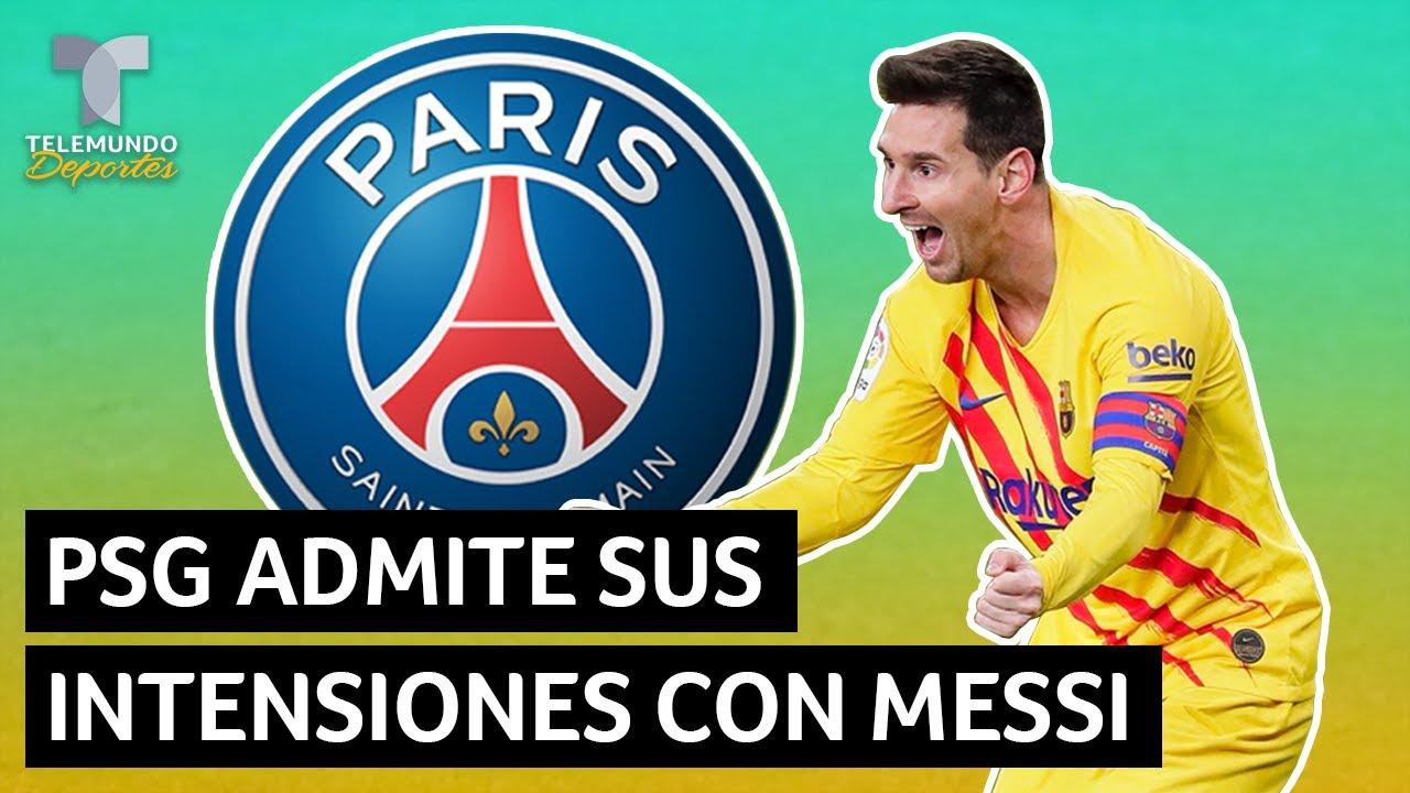 El PSG admite sus intenciones con Messi y ojo al aviso a Neymar y Mbappé   Telemundo Deportes