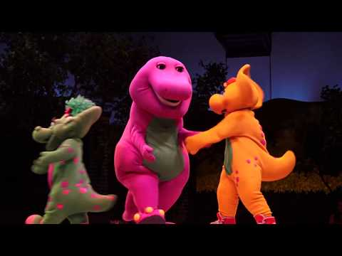 A Day in the Park with BARNEY in 4K ULTRA HD, Universal Studios Florida, Universal Orlando
