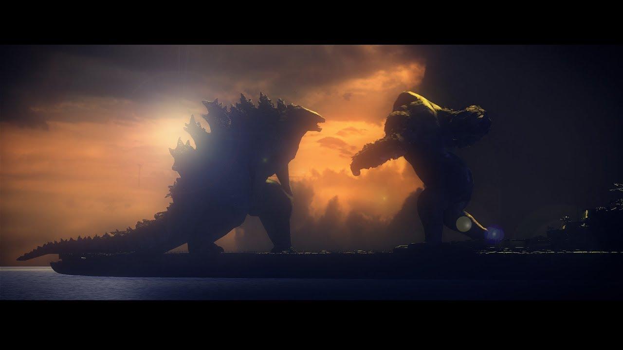Godzilla Vs Kong Leaked Footage Cgi Rendering Gets Us Hyped For 2020 Godzilla News Godzillavskong