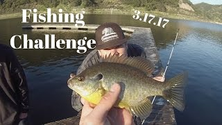 Fishing Challenge | Southern California | Lopez Lake 3.17.17