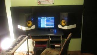 Kucni studio mala turneja :) (My little home studio tour)