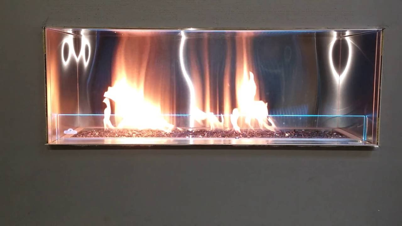 napoleon galaxy outdoor gas fireplace youtube