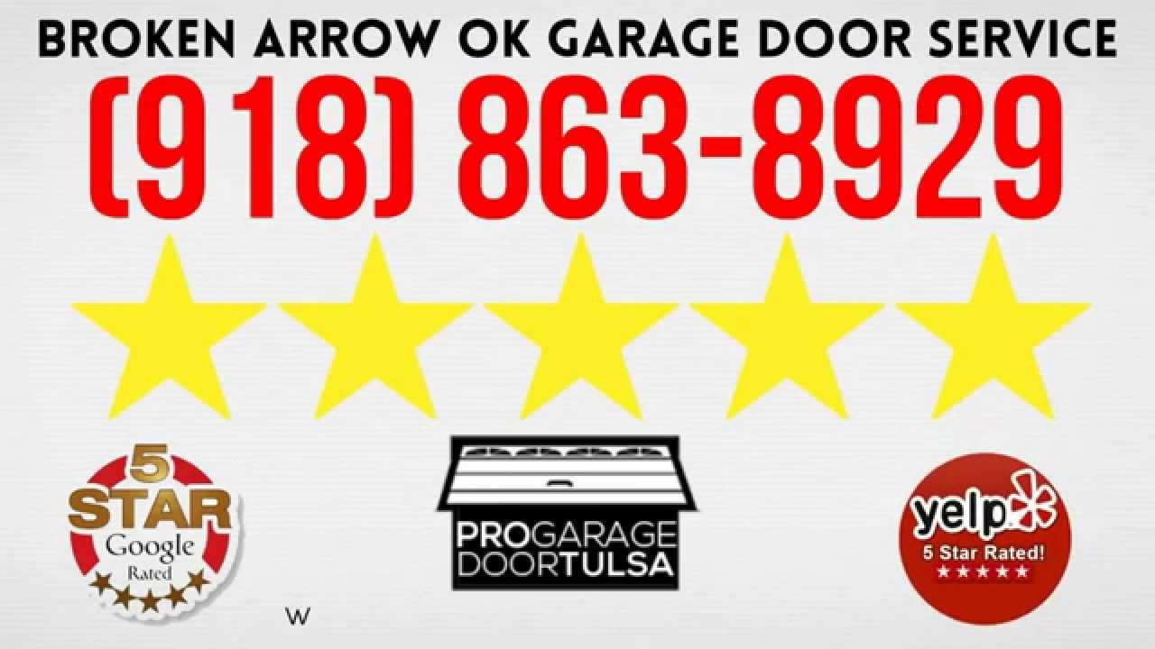 Garage Door Repair Service Broken Arrow Ok Youtube