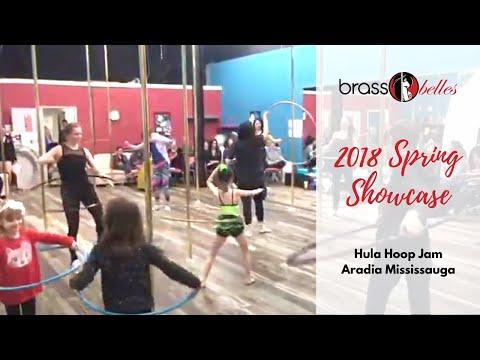 Student Showcase Aradia Mississauga April 2018 Hoop Jam