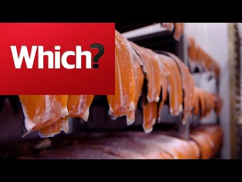 How traditional smoked salmon is made