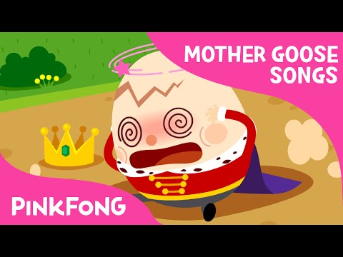 Humpty Dumpty   Mother Goose   Nursery Rhymes   PINKFONG Songs for Children