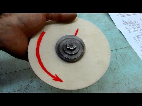 Как установить абразивный круг на оправку