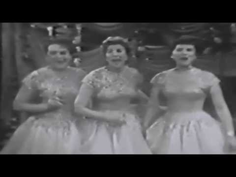The Andrews Sisters - Medley of Songs (1955)