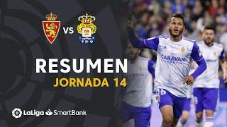 Resumen de Real Zaragoza vs UD Las Palmas (3-0)