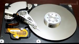 How hard disk drive works and internal components of hard drive
