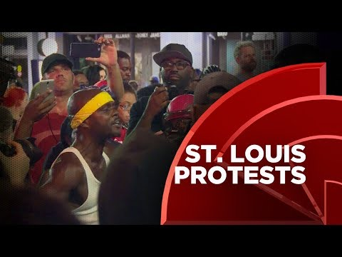 Protests Continue In St. Louis After A Former Cop Was Acquitted Of Killing Anthony Lamar Smith