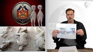 cia file crashed ufo and aliens turn russian soldiers into stone alien autopsy