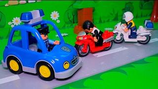 Мультики про машинки все серии подряд без остановки развивающие! Полицейская машина мультики!Сборник(Все мультики канала Истории Игрушек смотрите здесь: https://www.youtube.com/channel/UCGQNW9upk4XISvqenuMbGFQ/videos Сегодня у нас новый..., 2017-02-13T11:55:50.000Z)