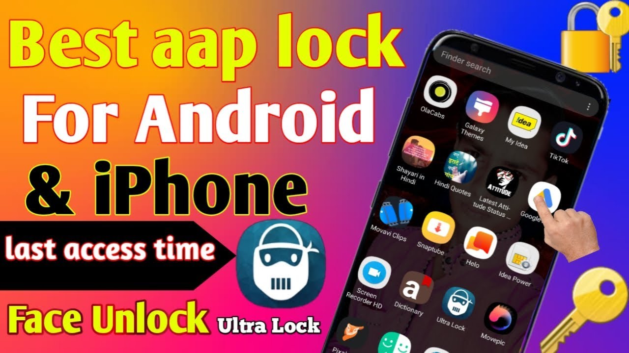 10 01 MB) best applock for android 2019 | Secret Screen