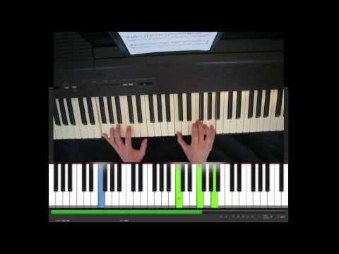 Wonderful tonight, Eric Clapton, piano tutorial