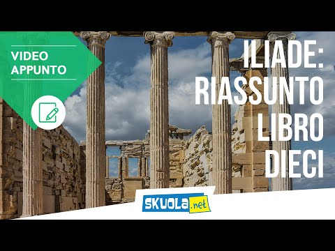 Riassunto libro 10 Iliade