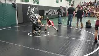 Final match of the day at Napoleon tournament