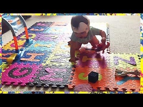 ABC Alphabet Foam Puzzle Mat | Removable Play Tiles