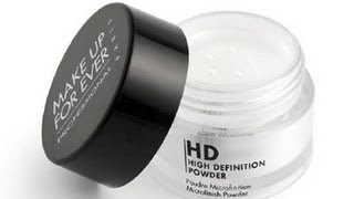 Makeup Forever Hd Microfinish Powder Review Demo