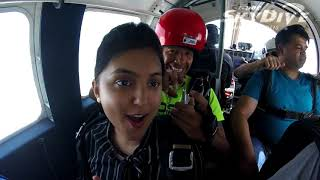 Reesha Usmani's Tandem skydive!