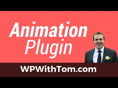 WordPress Animation Plugin – Editing Our Menu