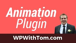 WordPress Animation Plugin - Editing Our Menu Mp3
