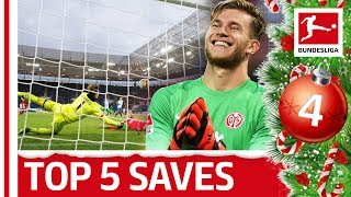 Top 5 Saves - Loris Karius | Bundesliga 2018 Advent Calendar 4