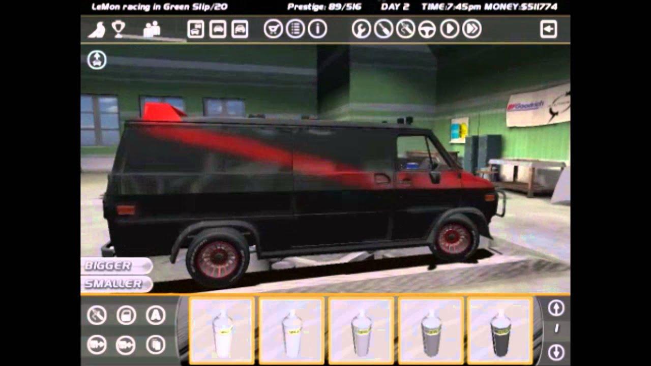 SLRR A Team Crap Can Van