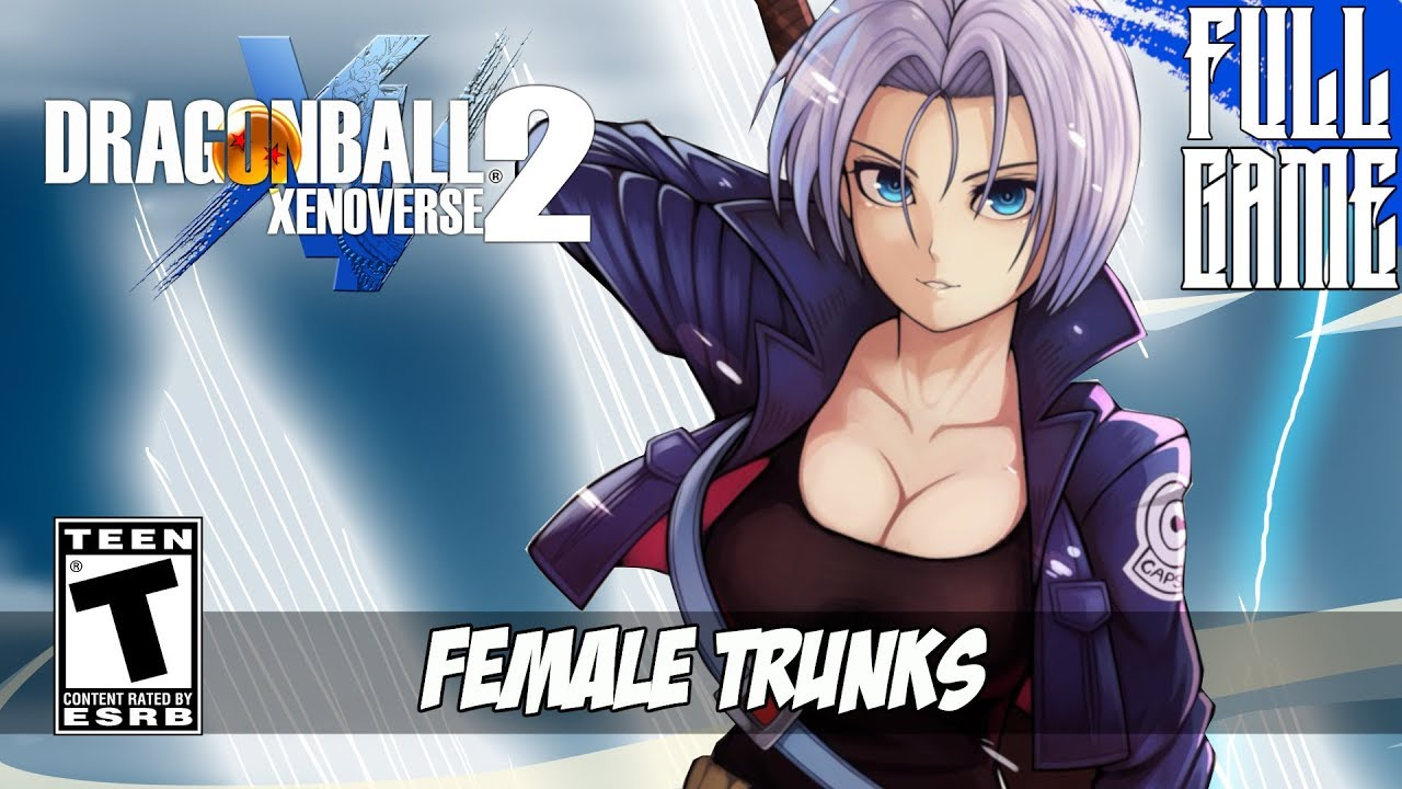 dbxv2 mod female trunks story mode pc hd youtube