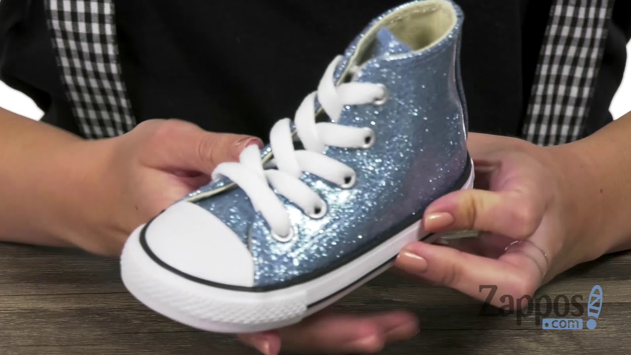004b6eb1f165 Converse Kids Chuck Taylor® All Star® Glitter - Hi (Infant Toddler) SKU   9067203