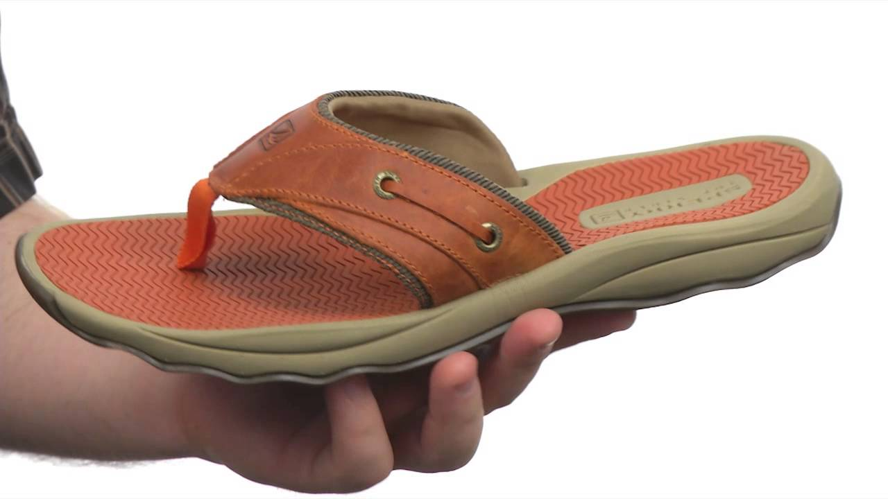 cf8996bfb001d1 Sperry Top-Sider Outer Banks Thong SKU:#8253004 - YouTube