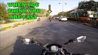 WHEN YOU THINK YOU ARE FAST THIS HAPPENS | KTM RC 390