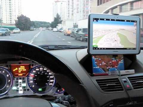2007 Acura MDX регулировка спидометра по GPS