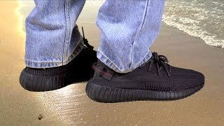 """Yeezy 350 V2 """"Black"""" the Perfect Summer Shoe?"""