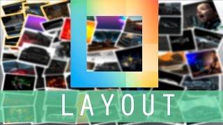 Instagram Layout - Как быстро и красиво сделать коллаж(Instagram Layout - В этом видео я подробно рассказываю как быстро и красива сделать коллажи., 2015-06-18T20:06:39.000Z)