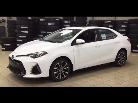 2017 toyota corolla se upgrade manual review youtube. Black Bedroom Furniture Sets. Home Design Ideas