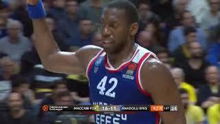 14.03.2019 / Maccabi FOX Tel Aviv - Anadolu Efes / Bryant Dunston