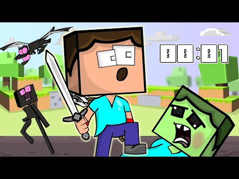 Спидран в Minecraft   Анимация