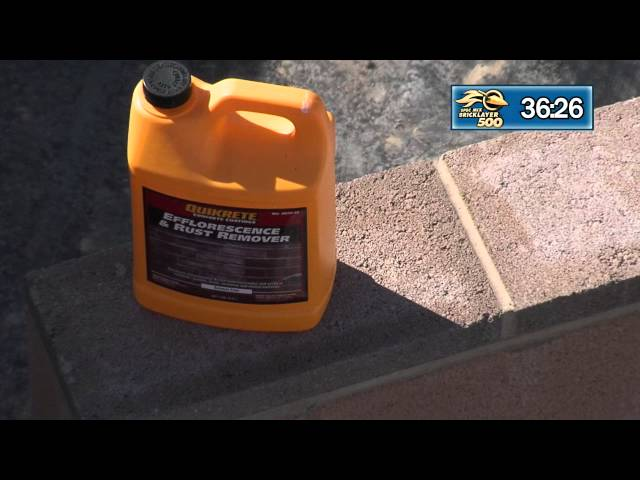 QUIKRETE DEMONSTRATION PART 2 OF 3 AT THE 2015 SPEC MIX BRICKLAYER 500® WORLD CHAMPIONSHIP