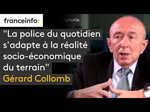 """""""La police du quotidien s'adapte à la réalité socio-économique du terrain"""" déclare Gérard Collomb"""