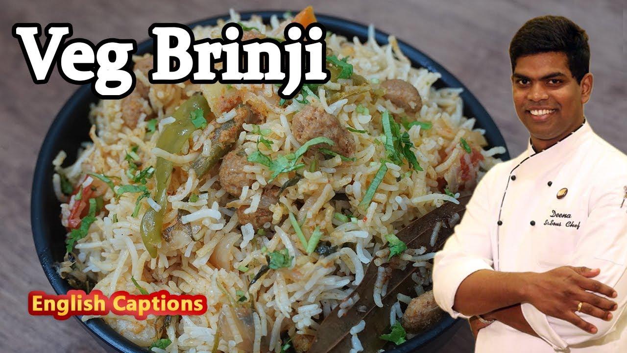 Brinji Recipe In Tamil | How to Make Vegetable Brinji Rice/ Sadham | CDK #261 | Chef Deena's Kitchen