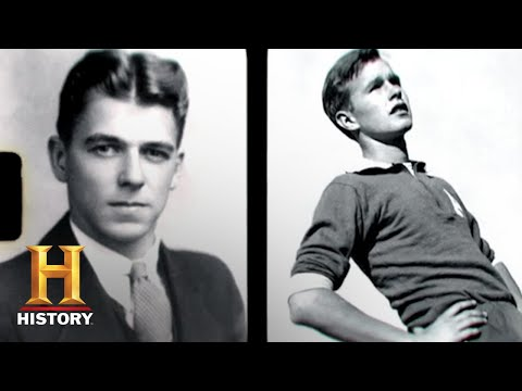 Presidents at War: George H.W. Bush and Ronald Reagan Enlist During WWII | History