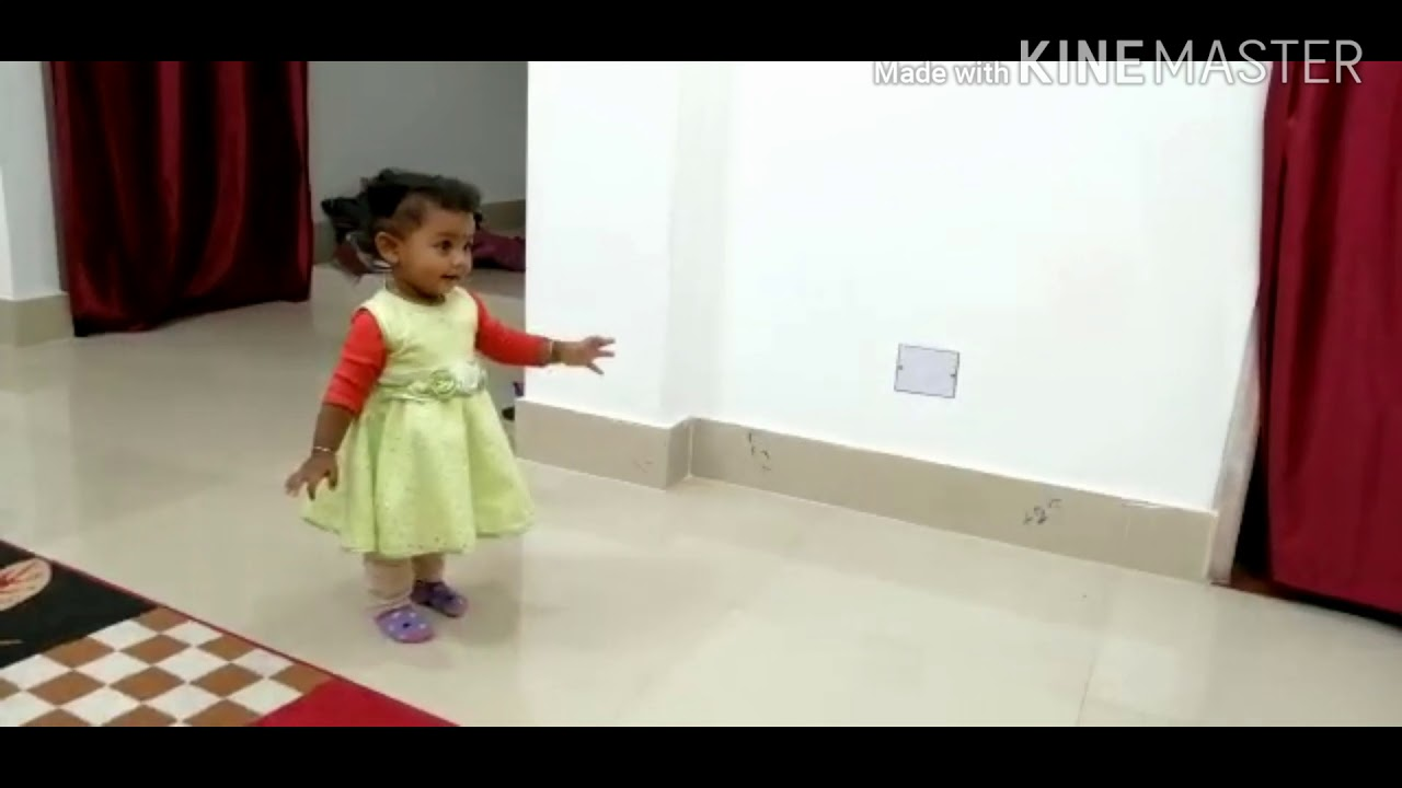 #Gungun gaire #Performed by 15th month old baby Girl