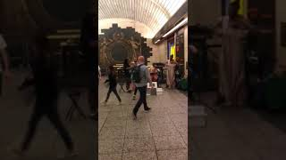 Game of Thrones in Penn Station, NYC